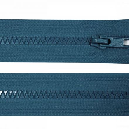 Galanterie: Zip kostěný délka 35 cm - petrol