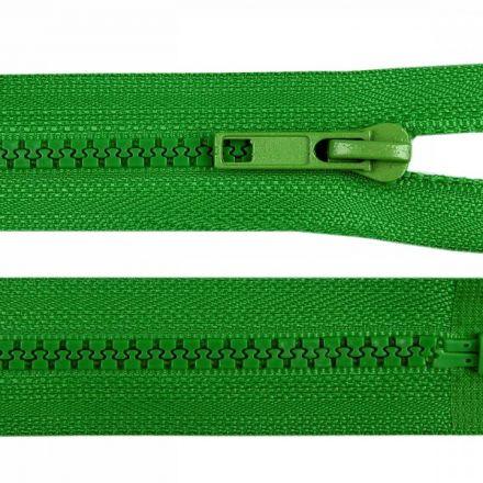 Galanterie: Zip kostěný délka 35 cm - zelená