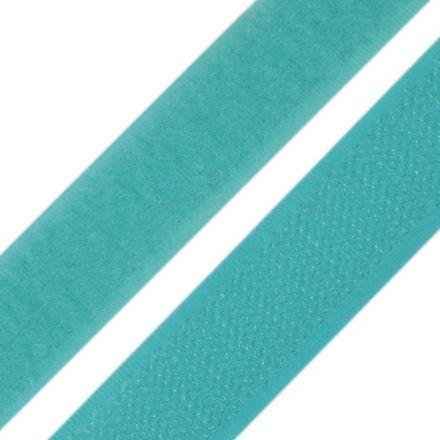 Galanterie: Suchý zip šíře 20 mm - tyrkysová