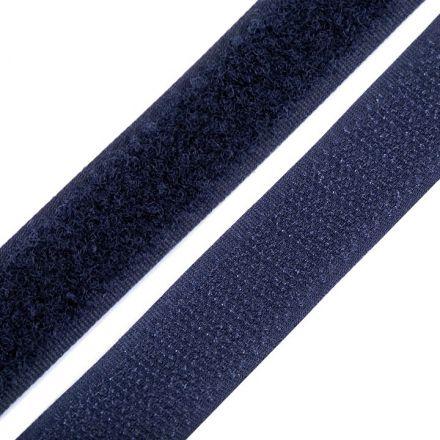 Galanterie: Suchý zip šíře 20 mm - tmavě modrá