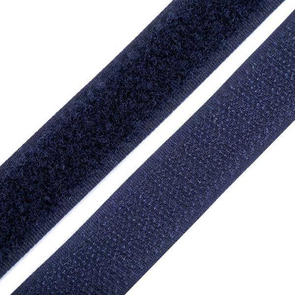 Suchý zip šíře 20 mm - tmavě modrá