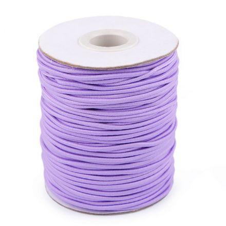 Galanterie: Kulatá pruženka 2 mm (1m) - fialková