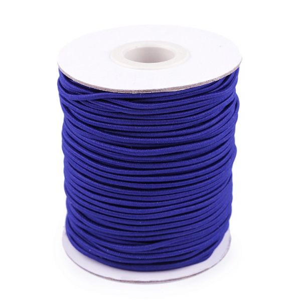 Kulatá pruženka 2 mm (1m) - modrá