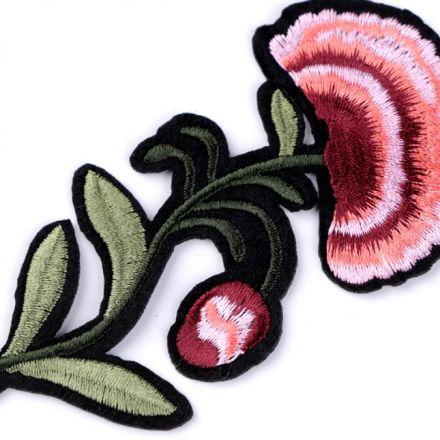 Galanterie: Nažehlovačka růže