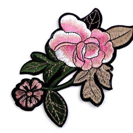 Galanterie: Nažehlovačka na rifle růže