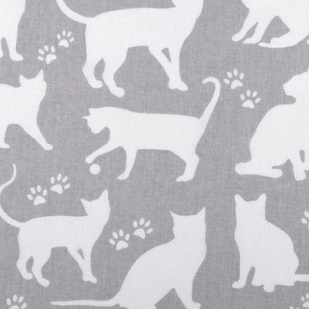 Metráž: Bavlněná látka kočka šíře 160 cm