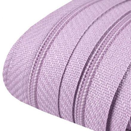 Galanterie: Zip spirálový šíře 3 mm (1m) - světle fialová