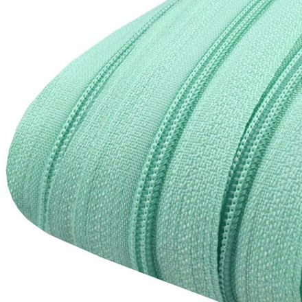 Galanterie: Zip spirálový šíře 3 mm (1m) - tyrkysová