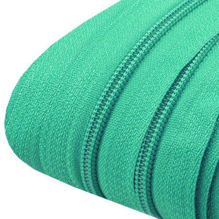 Galanterie: Zip spirálový šíře 3 mm (1m) - zelenkavá