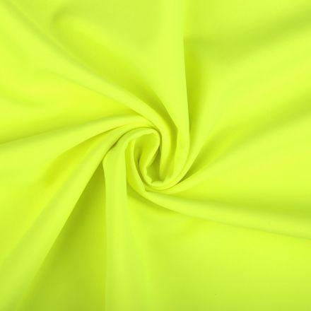 Metráž: Zimní softshell neon šíře 145 cm - žlutá