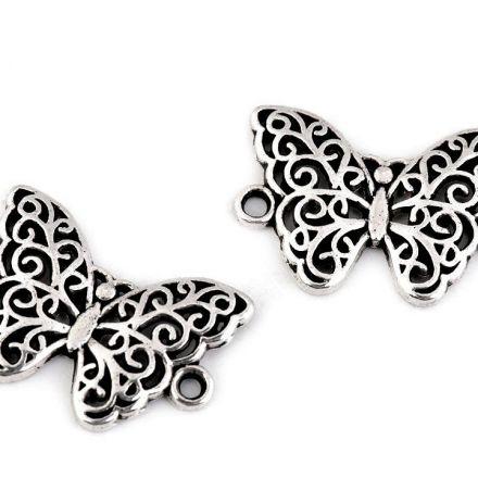 Galanterie: Přívěsek motýl 20 x 14 mm (1ks)