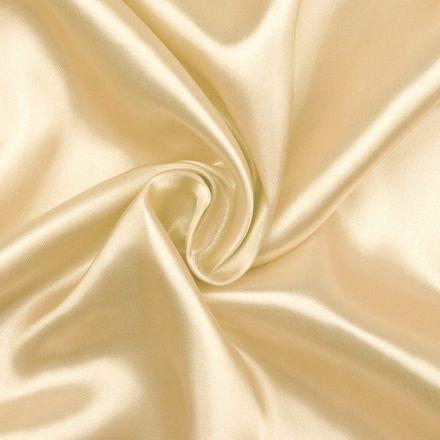 Metráž: Satén šíře 150 cm - vanilková