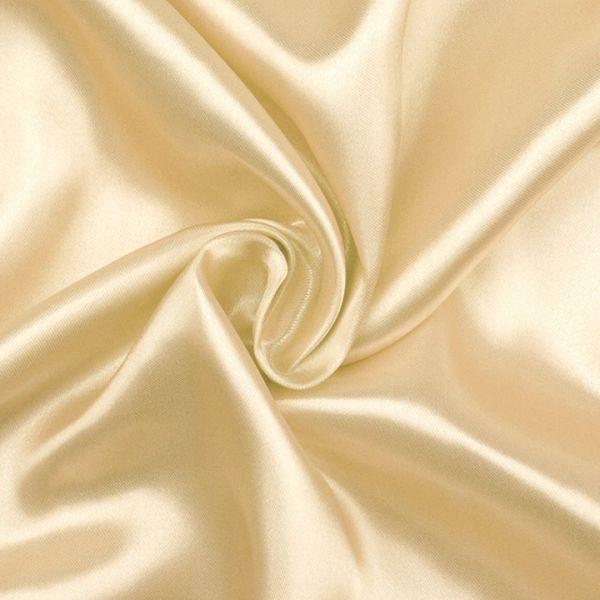 Satén šíře 150 cm - vanilková