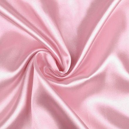 Metráž: Satén šíře 150 cm - růžová