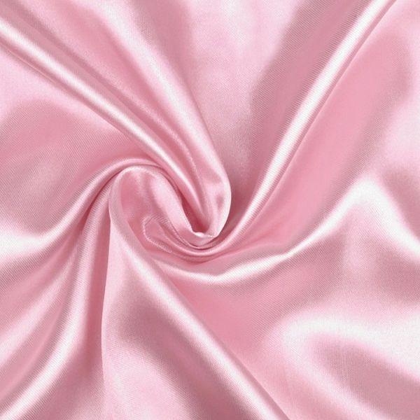 Satén šíře 150 cm - růžová