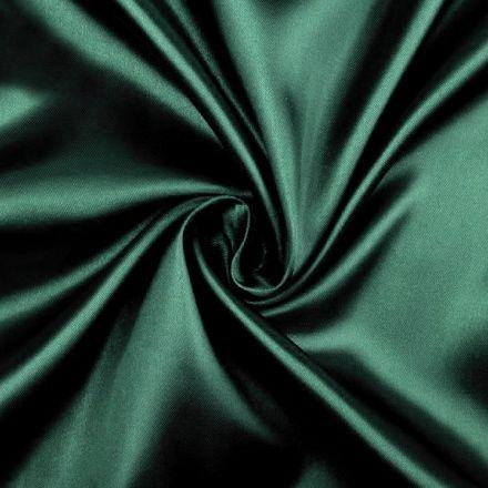 Metráž: Satén šíře 150 cm - tm.zelená