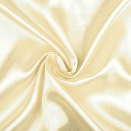 Metráž: Satén šíře 150 cm - sv. béžová