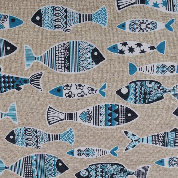 Dekorační látka ryby