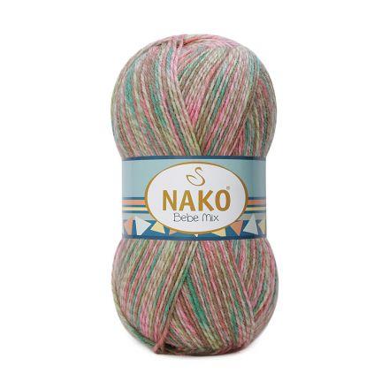 Galanterie: Pletací příze Nako Bebe (100g) - růžová