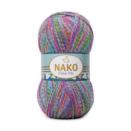 Galanterie: Pletací příze Nako Bebe (100g) - modrá