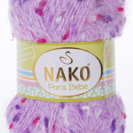 Galanterie: Pletací příze Paris Bebe (100g) - fialová