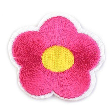 Galanterie: Nažehlovačka květ - růžová