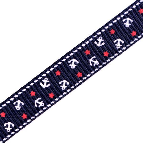 Rypsová stuha šíře 10 mm - modrá