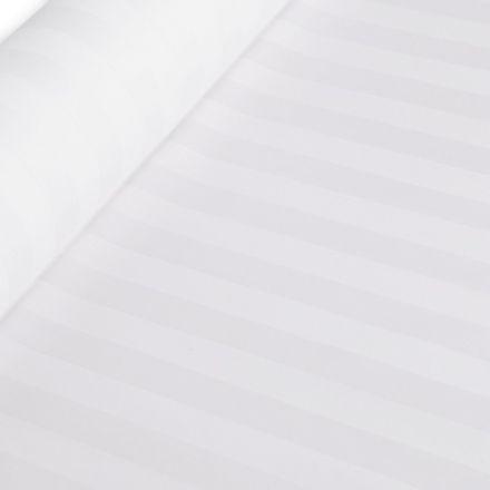 Metráž: Bavlněný satén proužek šíře 145 cm