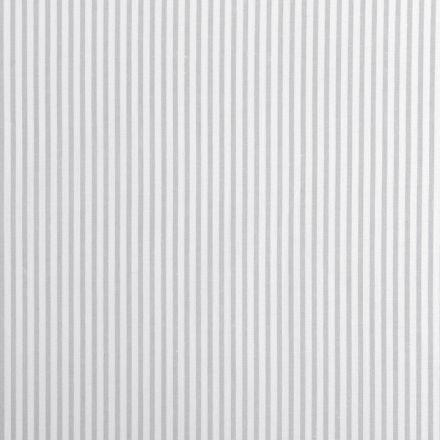Metráž: Bavlněná látka proužek - šedá
