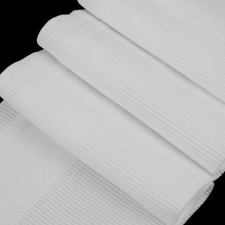 Galanterie: Elastický náplet s tunýlkem (1ks) - bílá