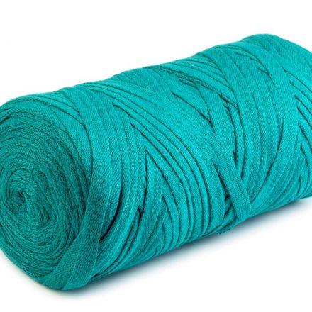 Galanterie: Špagety ploché Ribbon 250g - zelená tyrkys