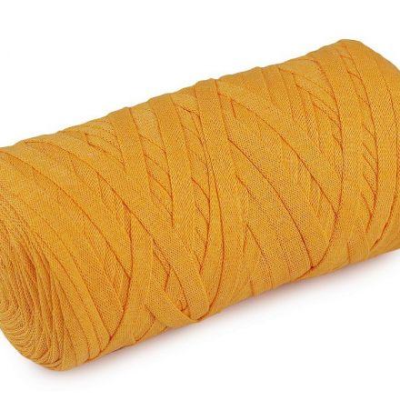 Galanterie: Špagety ploché Ribbon 250g - hořčicová