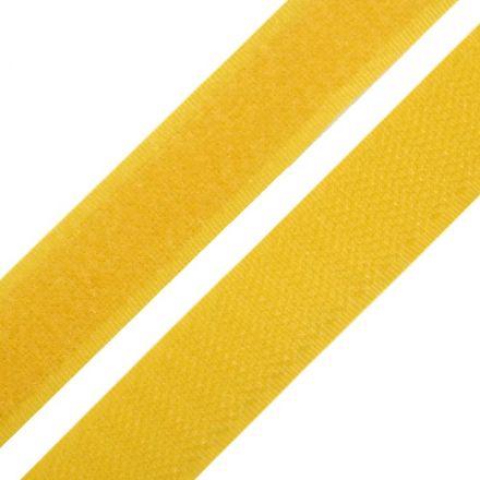 Galanterie: Suchý zip šíře 20 mm - hořčicová