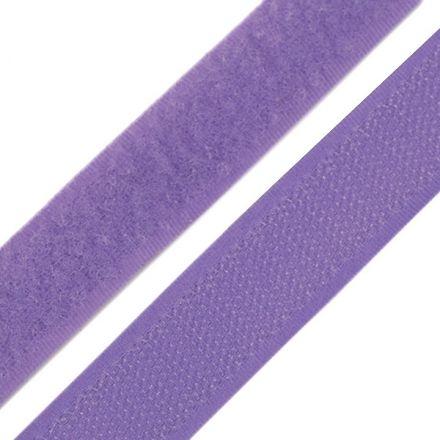 Galanterie: Suchý zip šíře 20 mm - levandulová