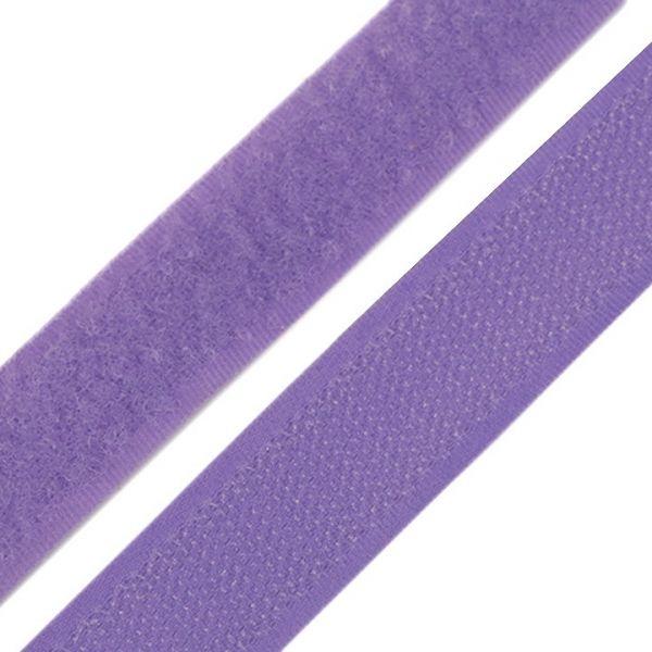 Suchý zip šíře 20 mm - levandulová