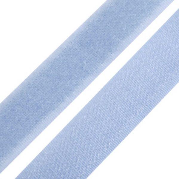 Suchý zip šíře 20 mm - sv.modrá