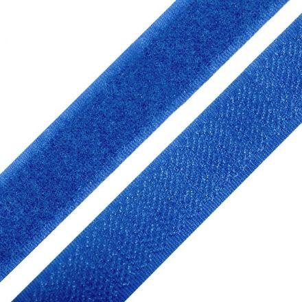 Galanterie: Suchý zip šíře 20 mm - modrá
