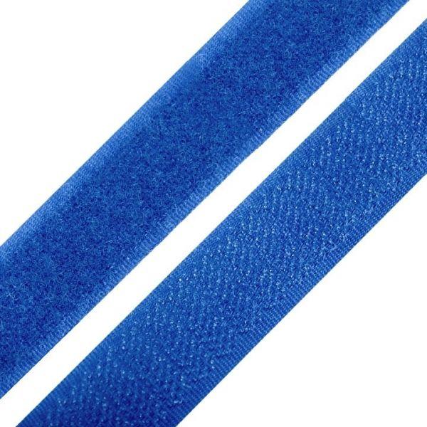 Suchý zip šíře 20 mm - modrá