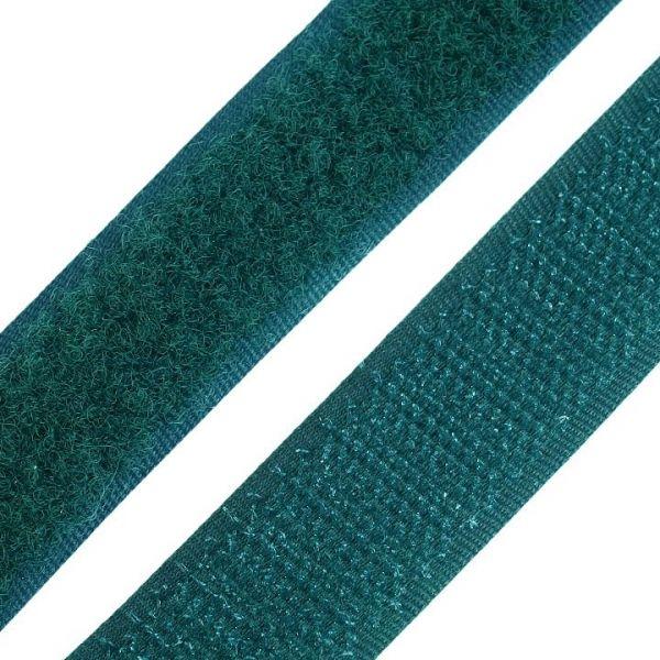 Suchý zip šíře 20 mm - tm. zelená