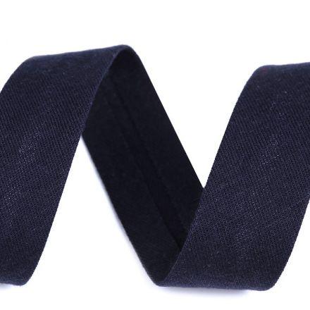 Galanterie: Šikmý proužek elastický šíře 20 mm - modrá