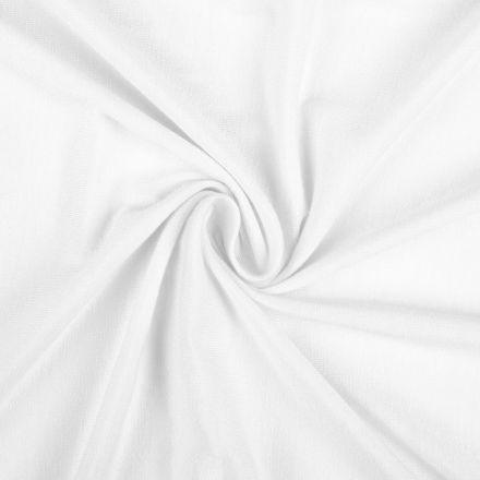 Metráž: Úplet jednobarevný šíře 155 - bílá