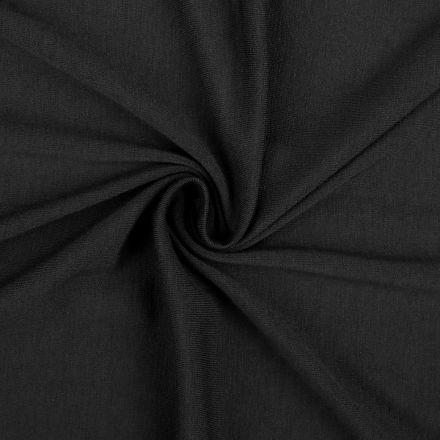 Metráž: Úplet jednobarevný šíře 155 - černá
