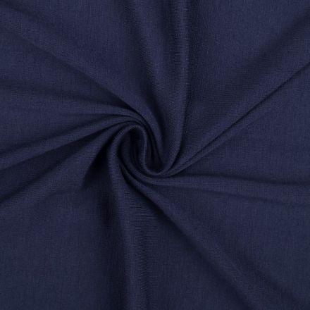 Metráž: Úplet jednobarevný šíře 155 - tmavě modrá