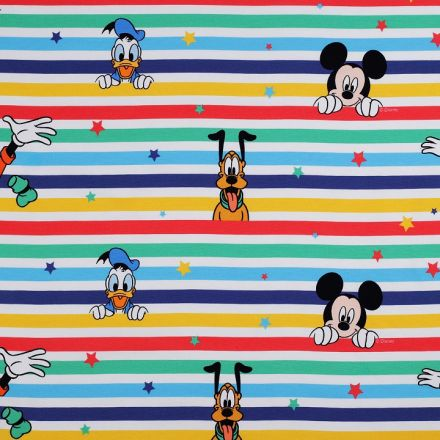 Metráž: Úplet Mickey šíře 150 cm