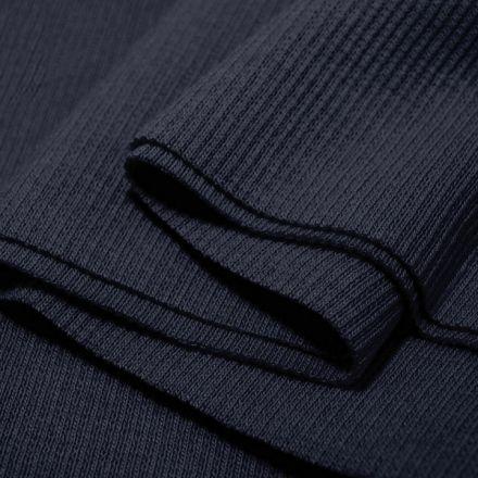 Galanterie: Elastický náplet 16 x 80 cm - tmavě modrá