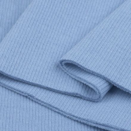 Galanterie: Elastický náplet 16 x 80 cm - světle modrá