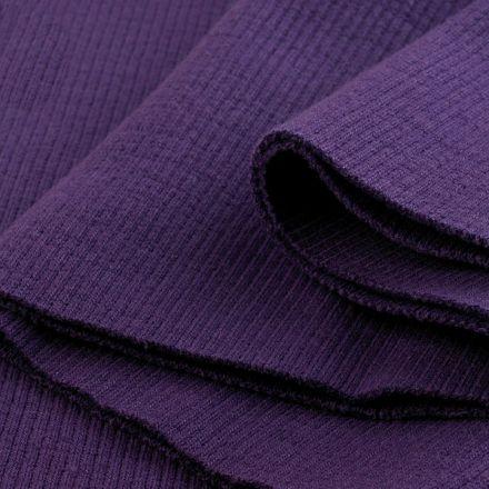 Galanterie: Elastický náplet 16 x 80 cm - fialová