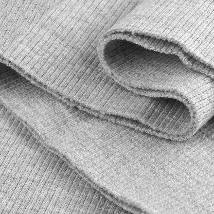 Galanterie: Elastický náplet 16 x 80 cm - šedý melír