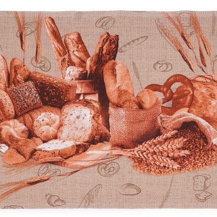 Metráž: Bavlněné vaflové piké (1m) - pečivo