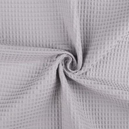 Metráž: Vaflovina šíře 155 cm - šedá